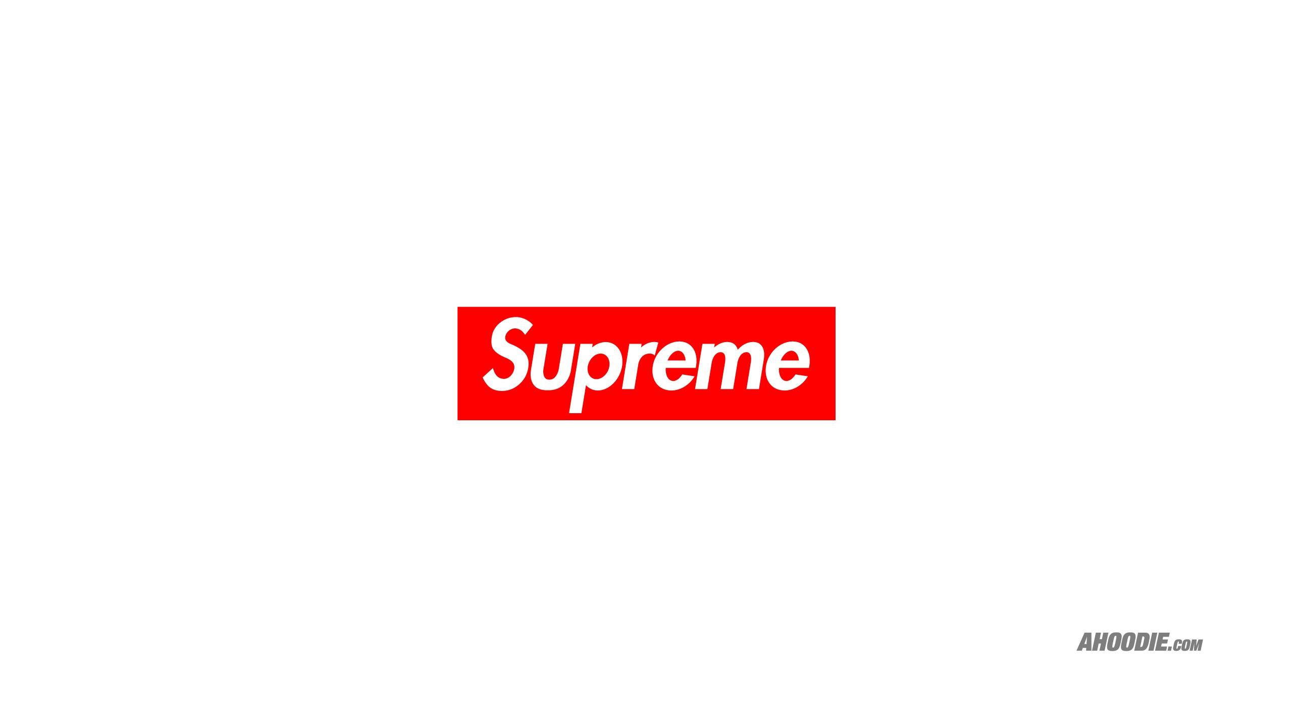 Supreme classic box logo wallpaper