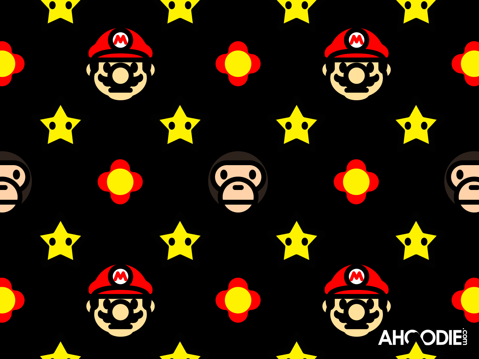 WALLPAPERS: BAPE MARIO TO MILO, the only place where you'll find ...
